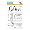 Simon Says Clear Stamps Believe Believe in the Season