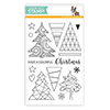 Simon Says Clear Stamps Color Me Trees