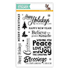 Simon Says Clear Stamps Happy Christmas