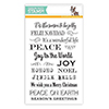 Simon Says Clear Stamps Holiday Message Strips