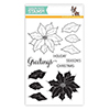 Simon Says Clear Stamps Poinsettia