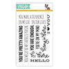 Simon Says Clear Stamps Stripe Greetings