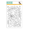 Simon Says Clear Stamps Winter Flowers
