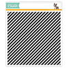 Simon Says Cling Rubber Stamp Diagonal Stripes