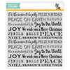 Simon Says Cling Stamps Holiday Background