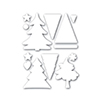 Simon Says Stamp Color Me Trees Wafer Die