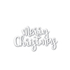 Simon Says Stamp Merry Christmas Script Wafer Die