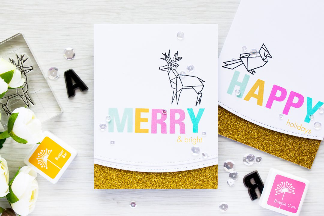 Hero Arts | Origami Christmas Cards & Holiday Challenge from Hero ...