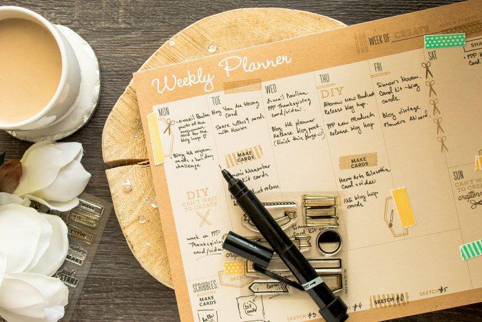 Hero Arts | My Crafty Life Planner