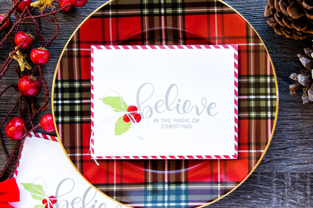 Simon Says Stamp | Simple Stamped Christmas Cards. Video