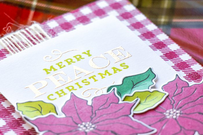 Simon Says Stamp | Vintage Christmas Card