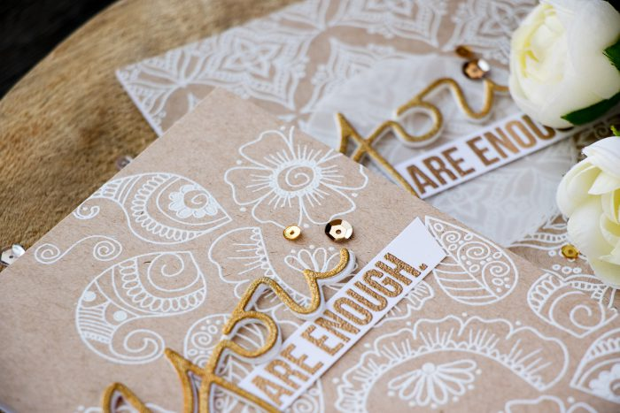 Simon Says Stamp | Henna Pattern Backgrounds. Video
