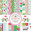 Doodlebug Here Comes Santa Claus 6x6 Paper Pad