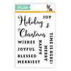 Simon Says Clear Stamps Advent Sentiments