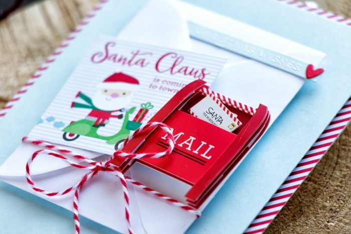 Simon Says Stamp | December Card Kit - Hidden Gift Card Pocket Card