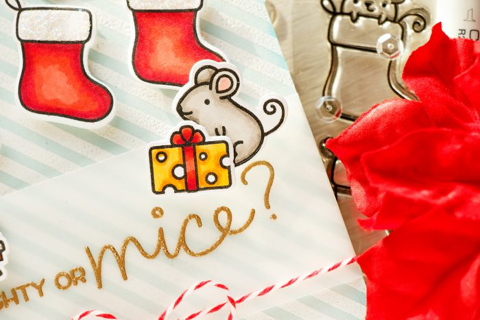 Simon Says Stamp | Have a Merry Christmouse Card + Video.