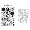 Altenew Vintage Flowers Clear Stamp and Die Bundle