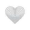 Hero Arts Nesting Hearts Infinity Dies DI334