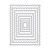 Hero Arts Nesting Postage Stamps Infinity Dies