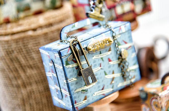 Spellbinders   Easy Travel-themed Gift Boxes. Video