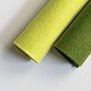 WPlus9 Shades of Green Wool Felt