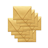 Simon Says Stamp Envelopes V Flap Metallic Gold