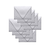 Simon Says Stamp Envelopes V Flap Metallic Silver