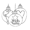 Spellbinders Joy to the World Stamp