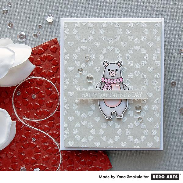 Hero Arts | Beary Valentine's Day Card
