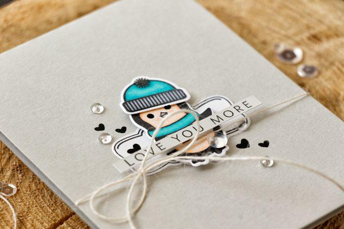 Hero Arts | Love Penguin Card