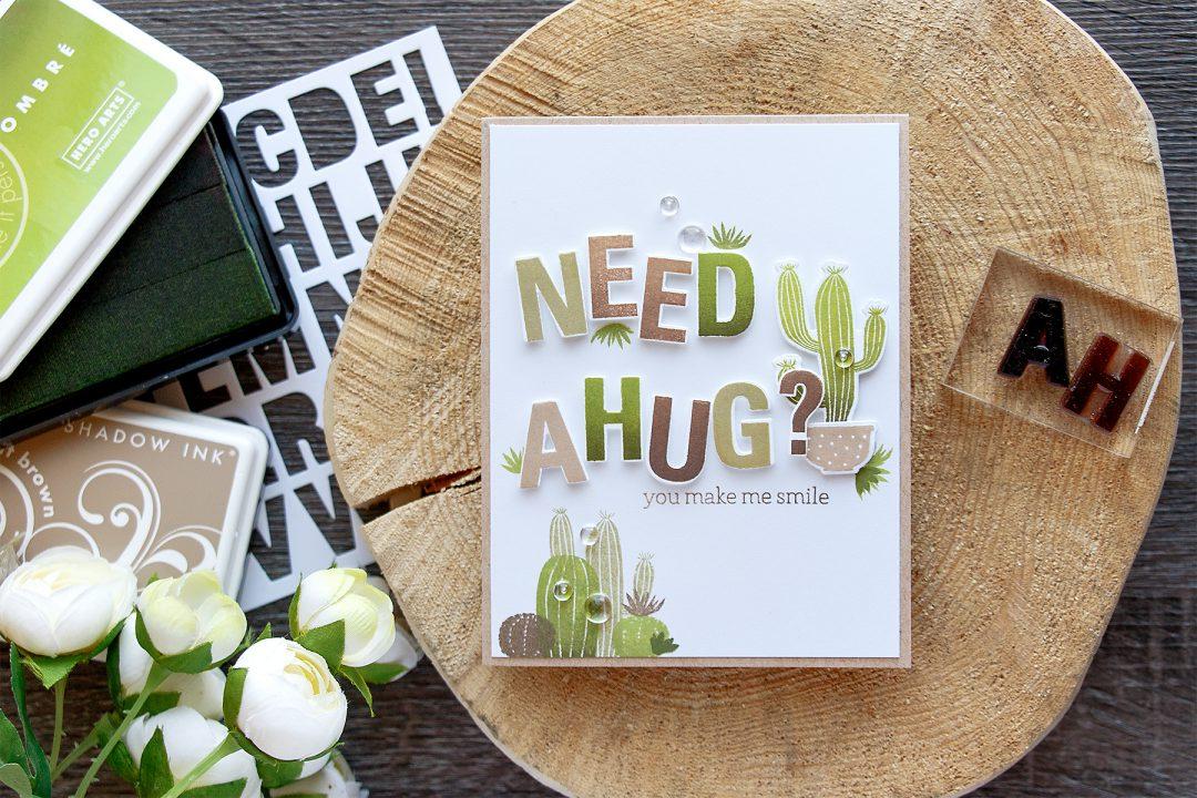 Hero Arts   Need a Cactus Hug?