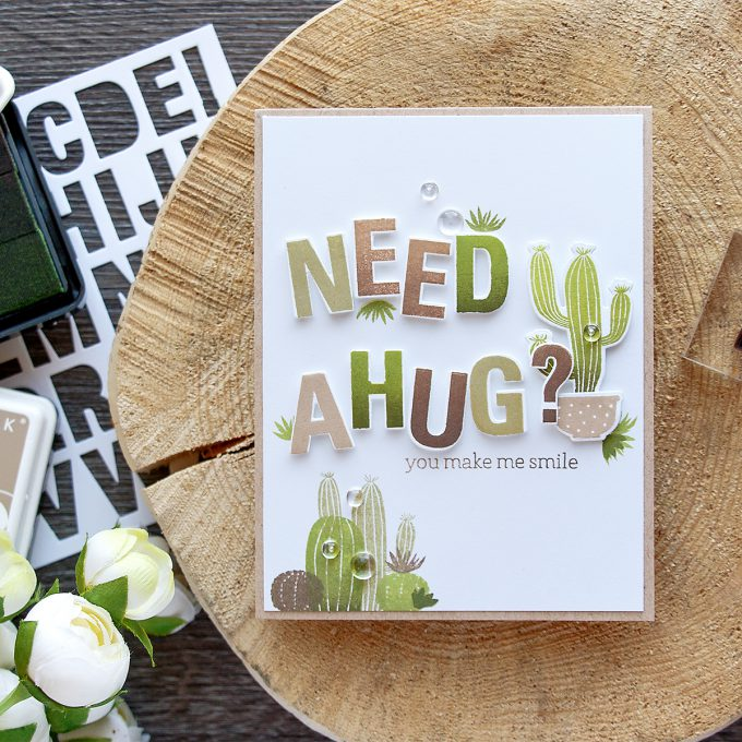 Hero Arts | Need a Cactus Hug?