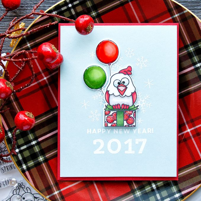 Simon Says Stamp | Happy New Year Chick Card