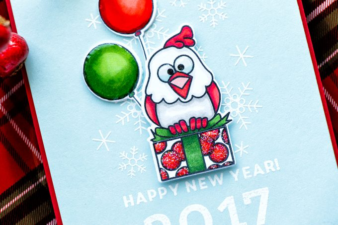 Simon Says Stamp   Happy New Year Chick Card