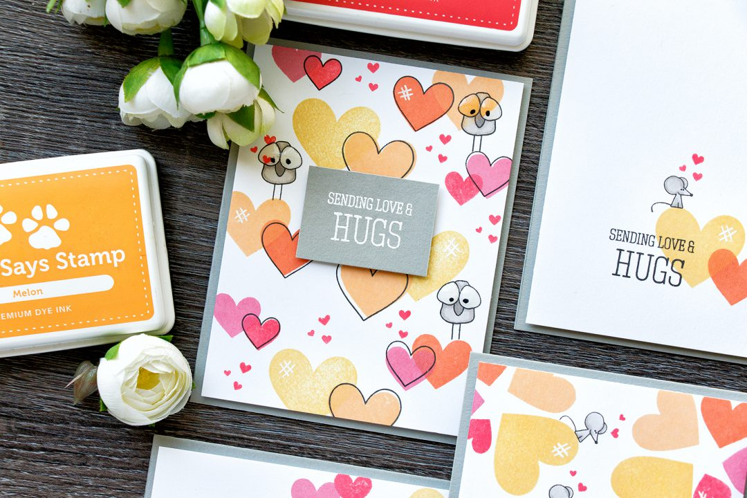 Simon Says Stamp | Tons Of Hearts Four Ways - Easy Valentine's Day Cards