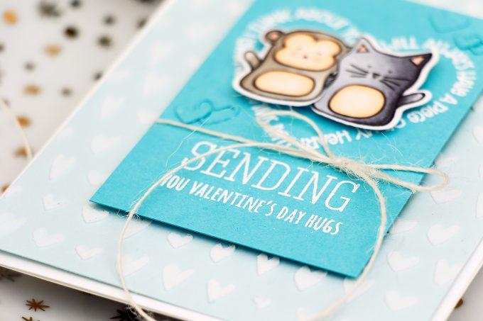 Simon Says Stamp | Sending Valentine's Day Hugs