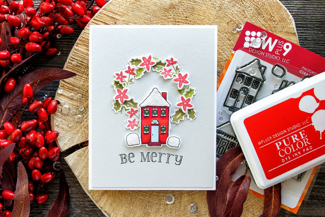 WPlus9 | Be Merry Holiday Card