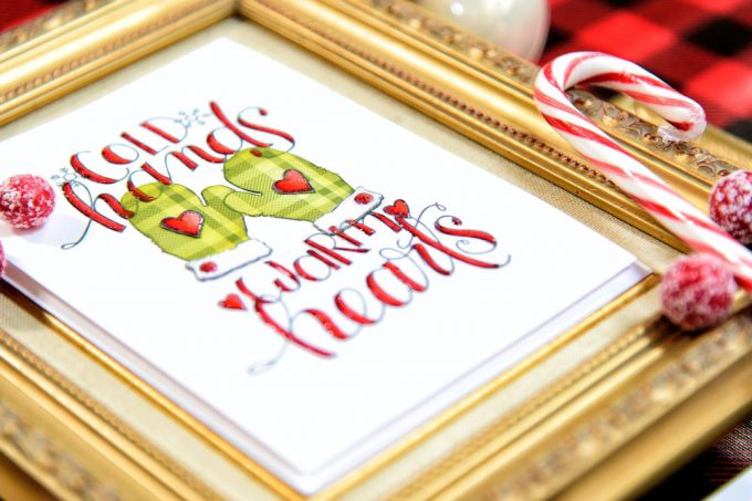 Spellbinders | Christmas Cards with stamps from Tammy Tutterow