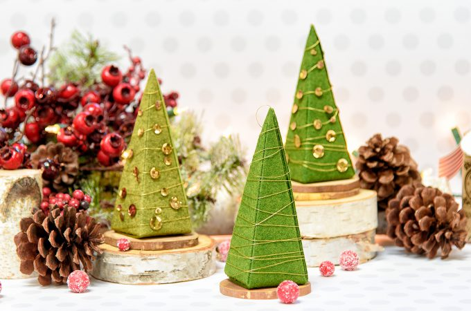Spellbinders | 3D Christmas Trees out of Gift Boxes. Video