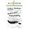 Altenew Faithful Feathers Stamps
