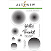 Altenew Halftone Circles Stamps