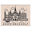 Hero Arts Rubber Stamp Destination New Orleans