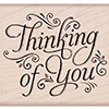 Hero Arts Rubber Stamps Fancy Thinking of You