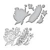 Spellbinders Feather Cling Stamp and Die
