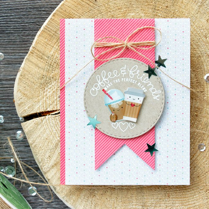 Simon Says Stamp | Coffee & Friends - February 2017 Card Kit