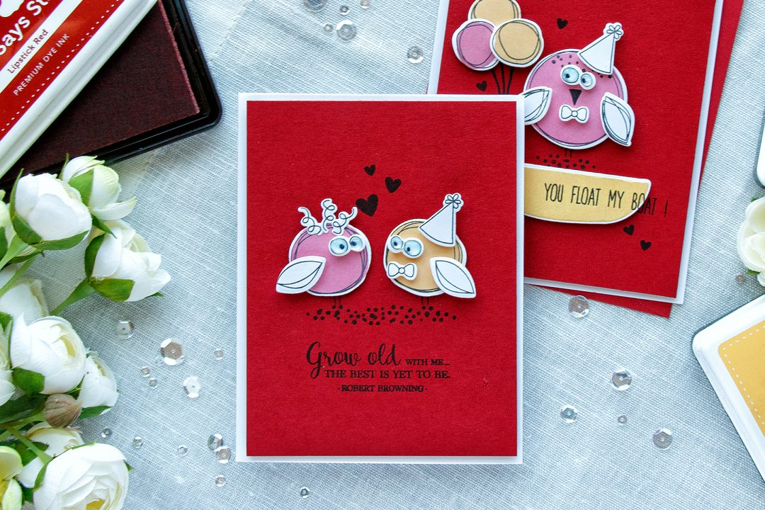 Simon Says Stamp | Doodle Valentine's - Stretching Basic Shape Stamps