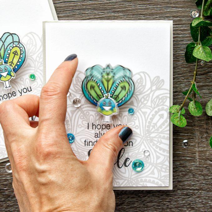 Simon Says Stamp | Funny Pretend Peacock Card. Video