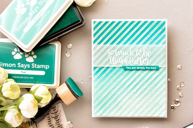 Simon Says Stamp | So Much To Be Thankful For - Glimmer Paste Dimensional Background