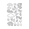Hero Arts Raining Cats and Dogs Stamps