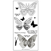 Concord & 9th Butterfly Beauty Clear Stamp Set